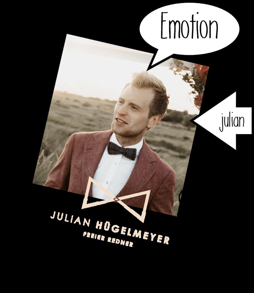 Polaroid Bild von Julian Vorstellung Über uns |RedeKunstWerk Die Ausbildung für Freie Redner