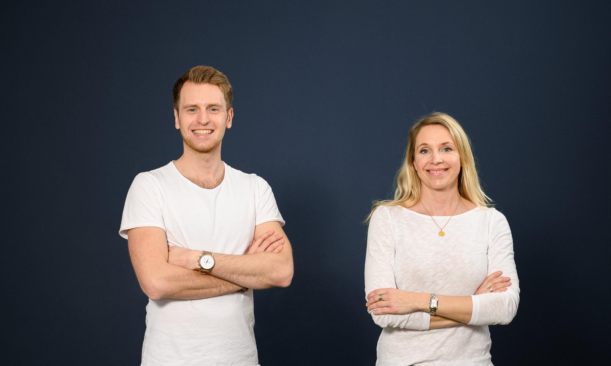 Das Team vom RedeKunstWerk Anja und Julian im Porträt